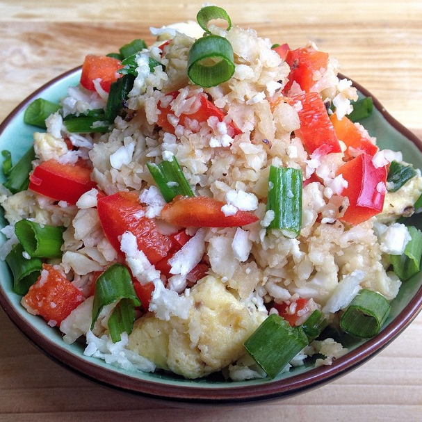 Chinese Cauliflower Fried Rice Recipe