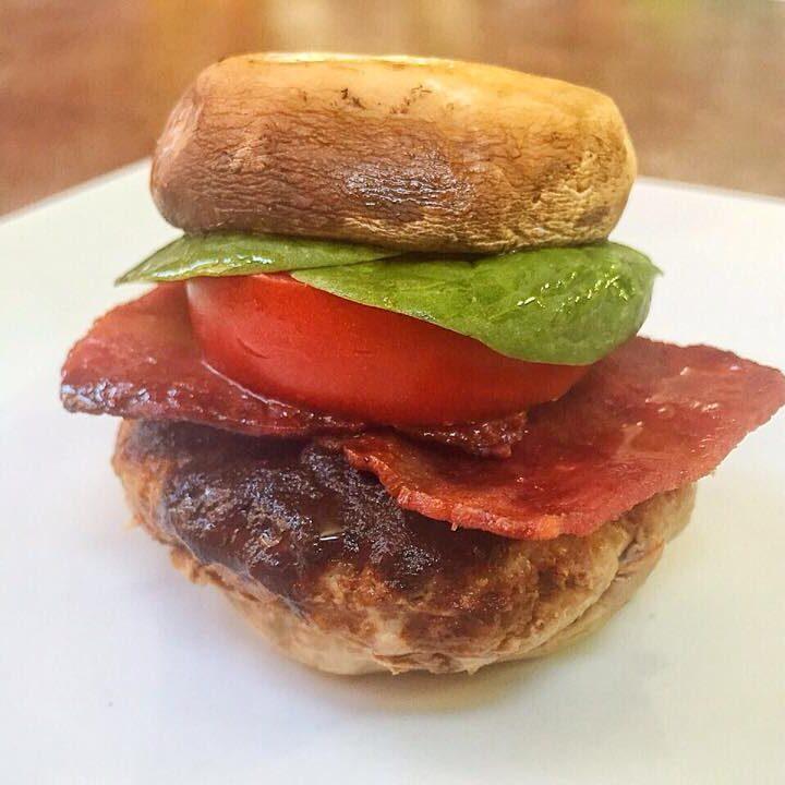 Juicy American Barbecue Turkey Bacon Slider