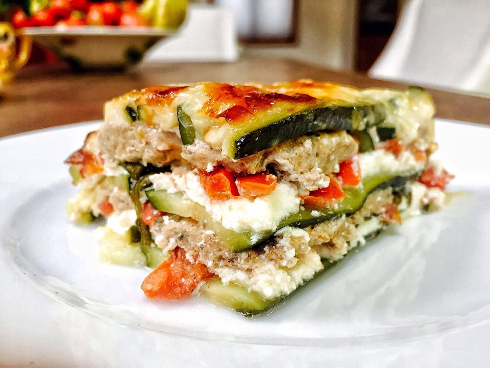 Italian Zucchini Lasagna