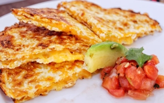 Low Carb Mexican Cheese Quesadilla Recipe