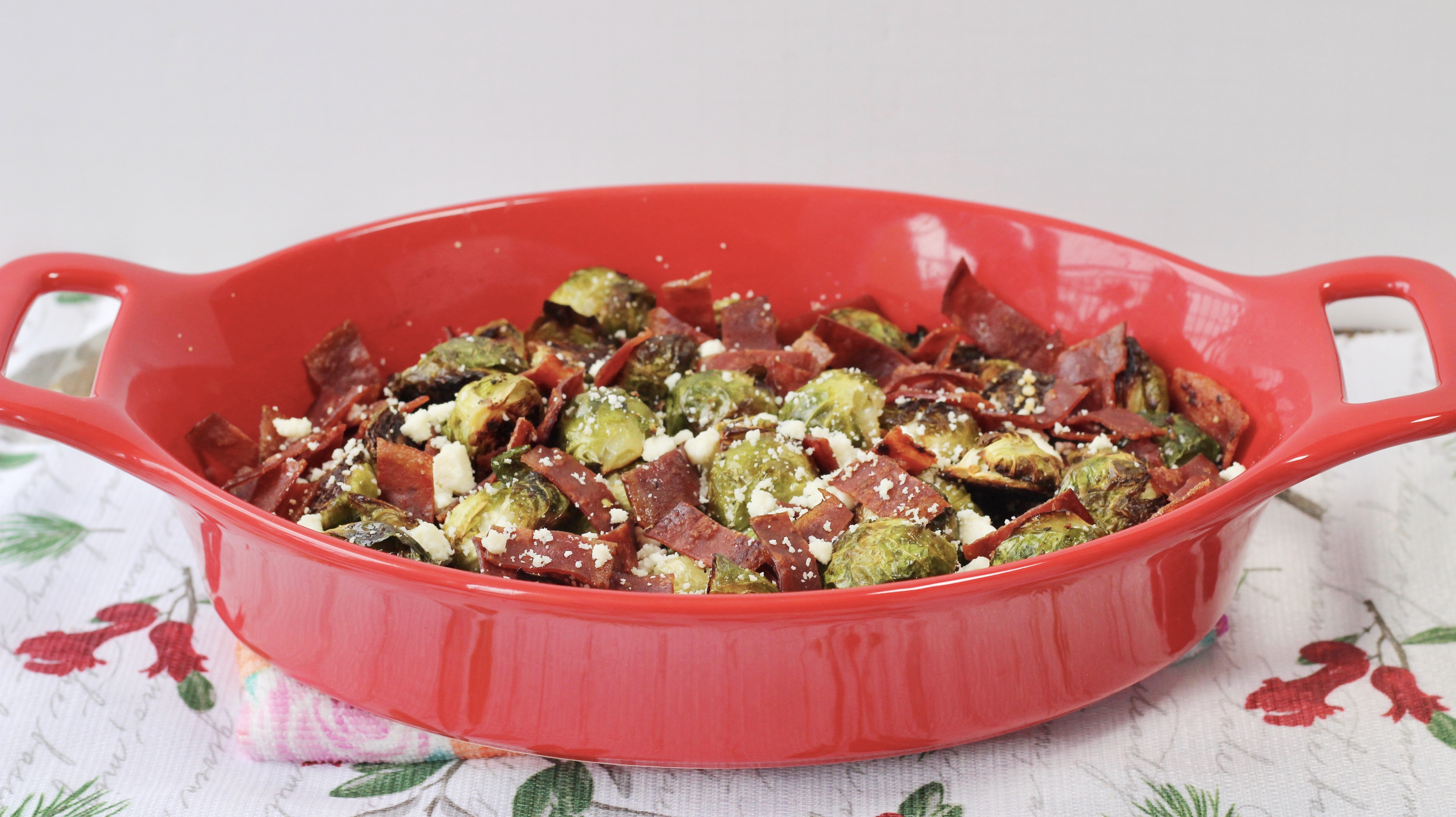 Roasted Brussels Sprouts Holiday Side Dish Recipe