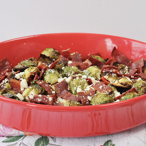 Roasted Brussels Sprouts Holiday Side Dish