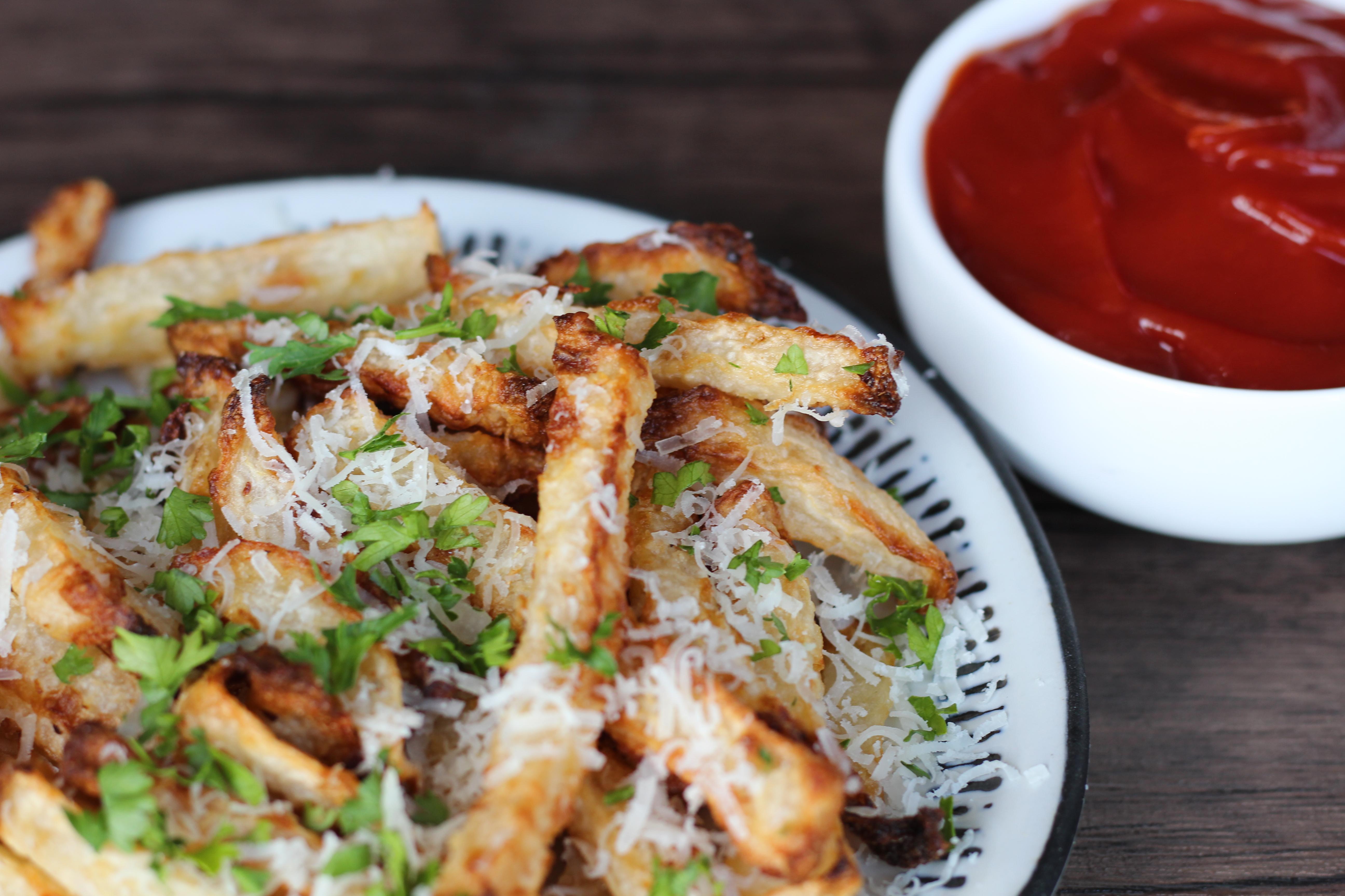Crispy Low Carb Jicama French Fries Recipe