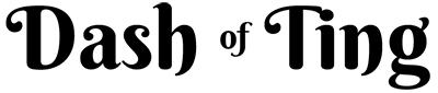 Dash of Ting Logo