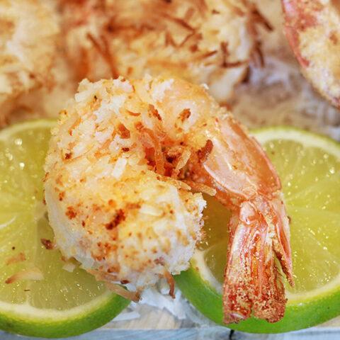 Crispy Air Fryer Coconut Shrimp